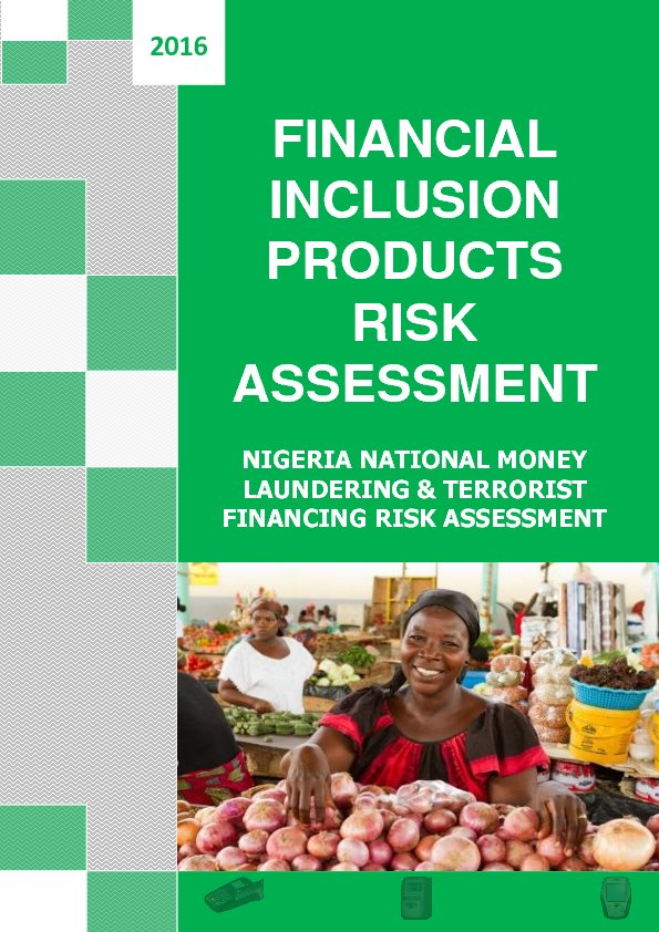 Nigeria-AML-CFT-National-Risk Assessment2017(Financial_inclusion)